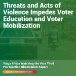 Yiaga Africa Watching The Vote Pre-Election Observation (PREO) Three
